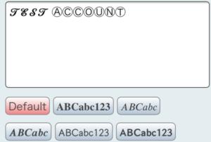 PlainStyleは一部の文字だけ特殊文字に変換することも可能
