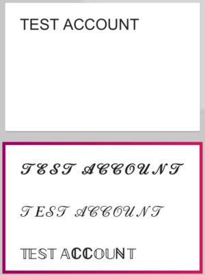 特殊文字に変換されたらコピーして利用する