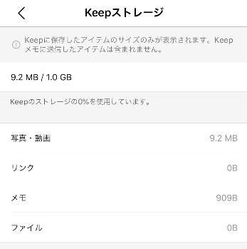 Keep メモ ライン